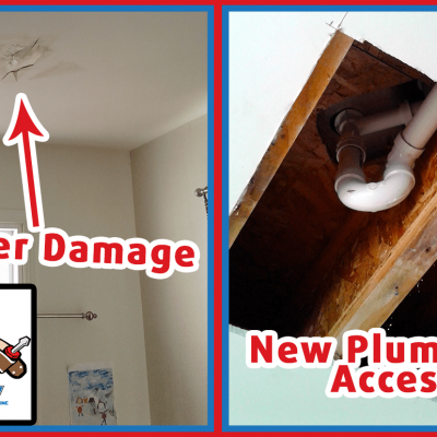 Handyman Finished Product After Water Damage Repair