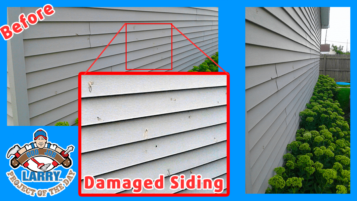 Damaged Siding Replacement