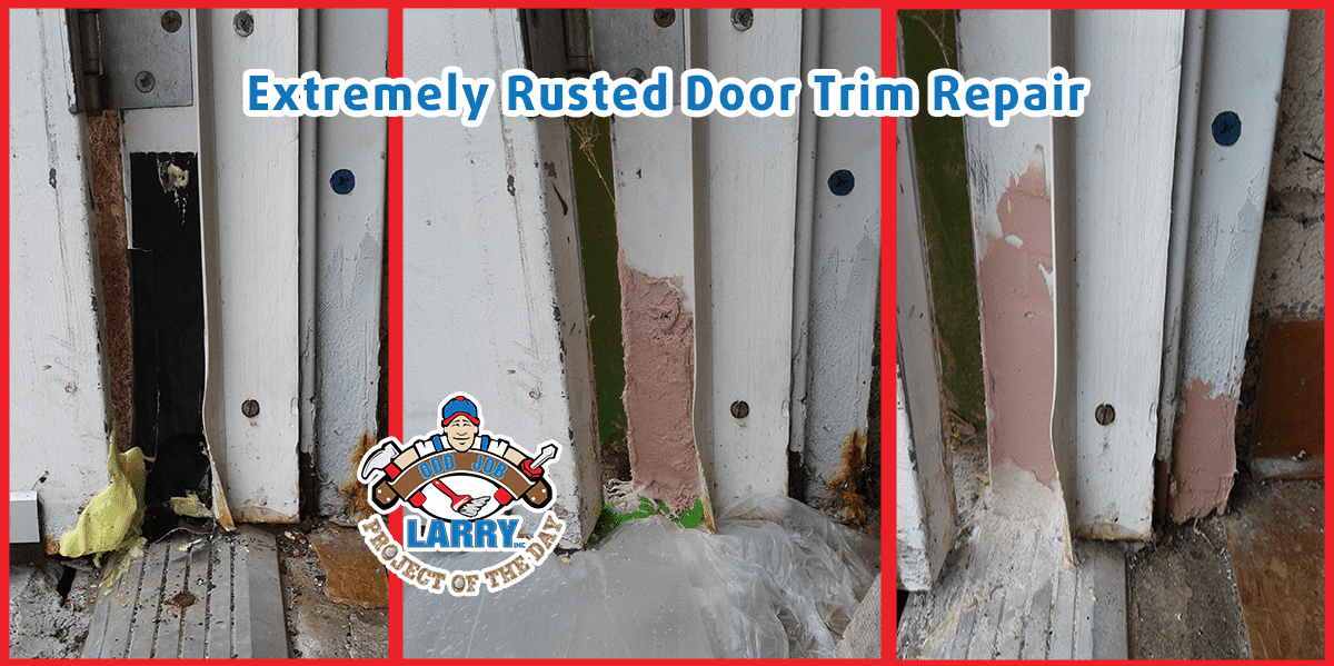 Rusted Steel Door Repair