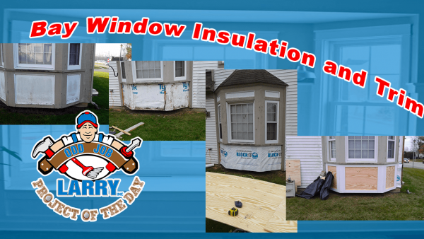 handyman bay window insulation and trim installation kenosha