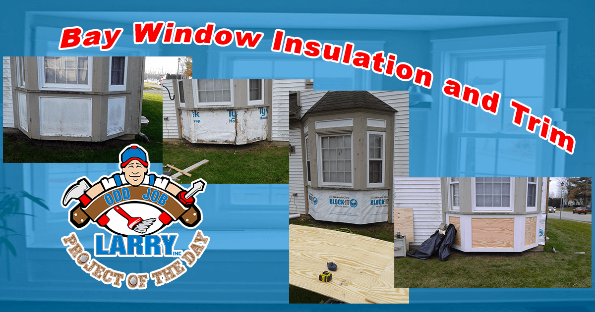 Bay Window Insulation and Trim