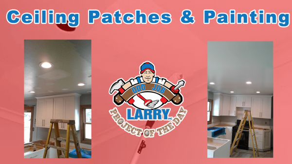 handyman professional painter and ceiling patching kenosha
