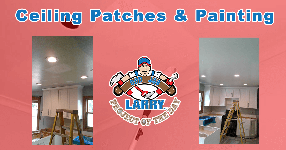 Ceiling Patches & Painting
