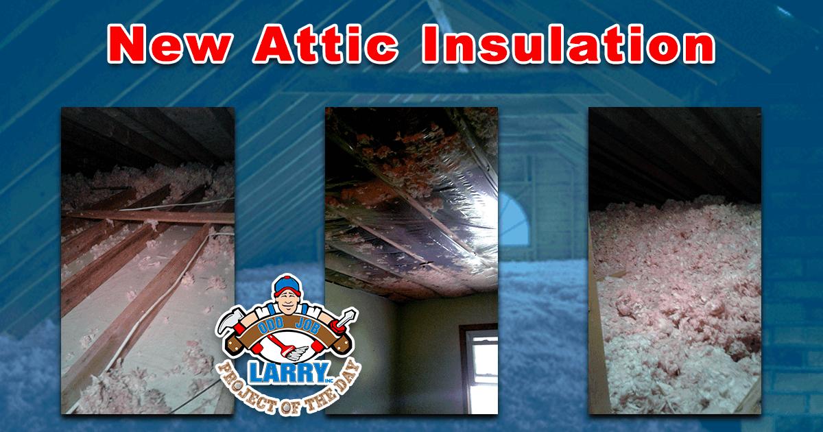 New Attic Insulation