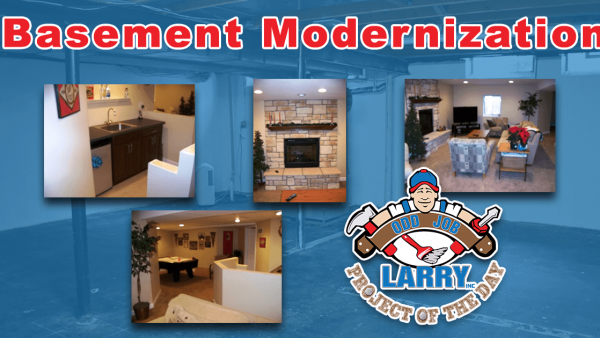 handyman basement remodel and modernization kenosha
