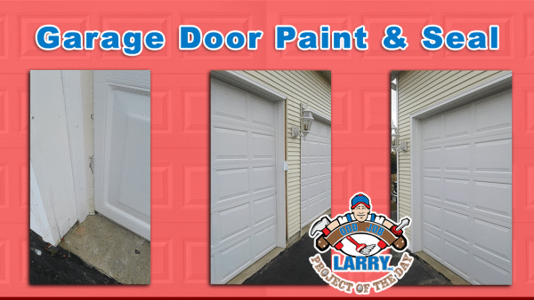 odd job larry garage door painting