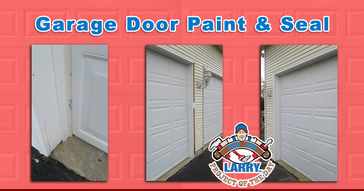 Garage Door Paint & Seal
