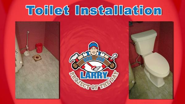 handyman toilet installation kenosha racine gurnee