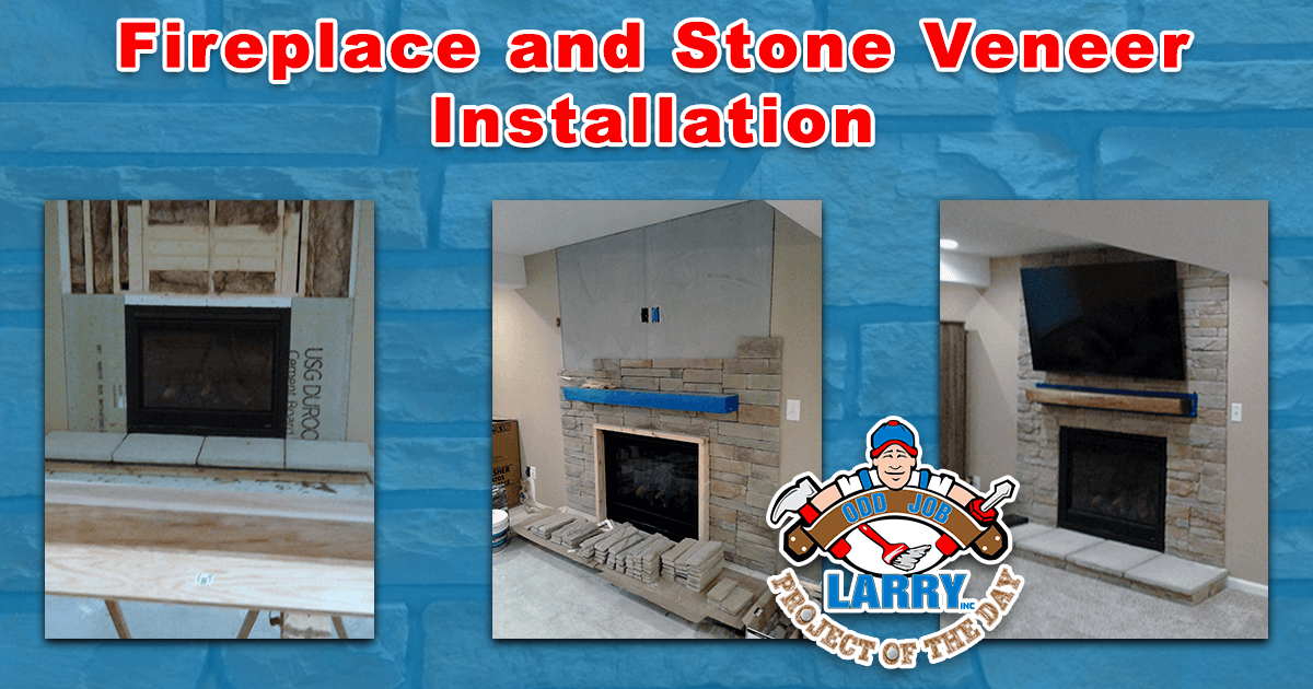 Fireplace & Stone Veneer Installation