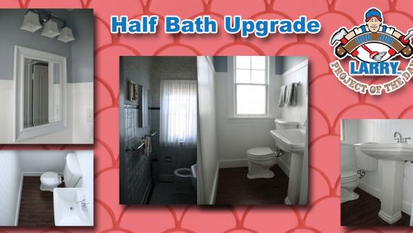 handyman half-bath upgrade kenosha