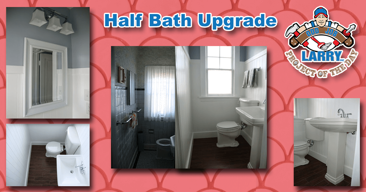 Half Bath Upgrade