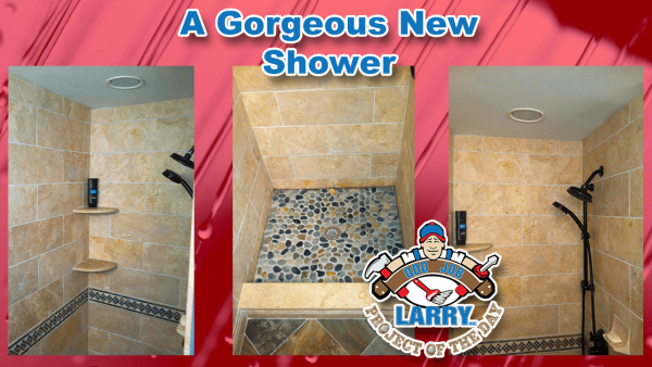 handyman shower and tile installation kenosha racine & lake county
