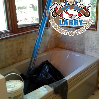 handyman bathtub tile installation