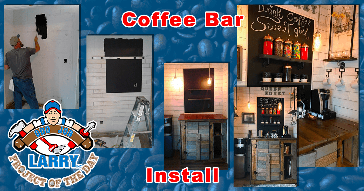 Coffee Bar Installation