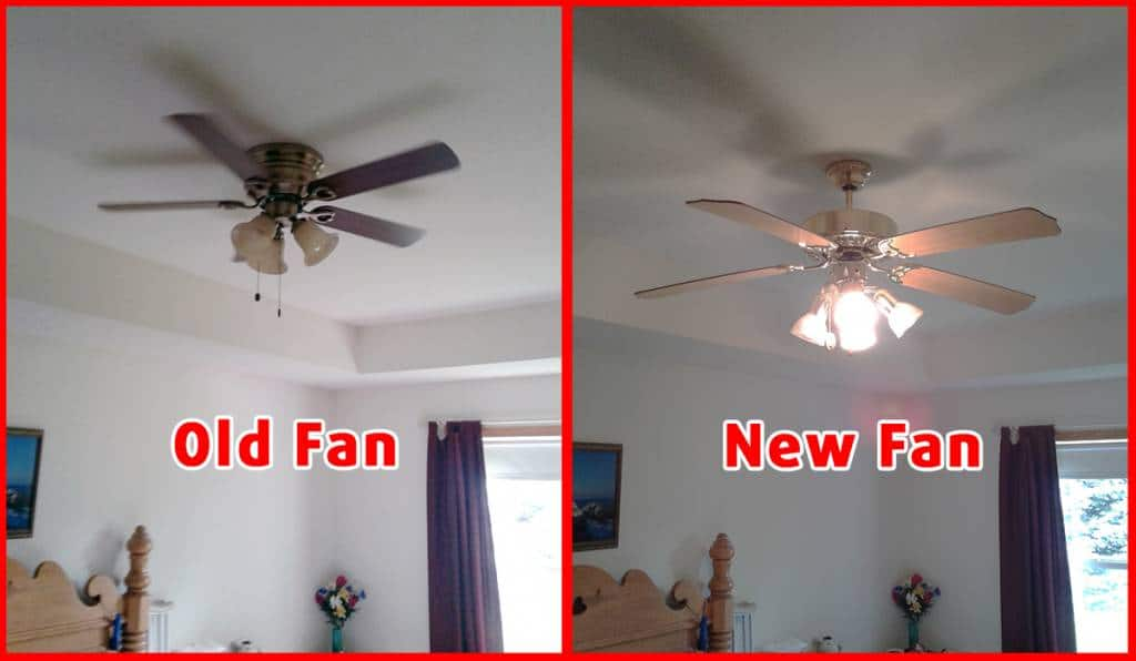 Updated Ceiling Fans