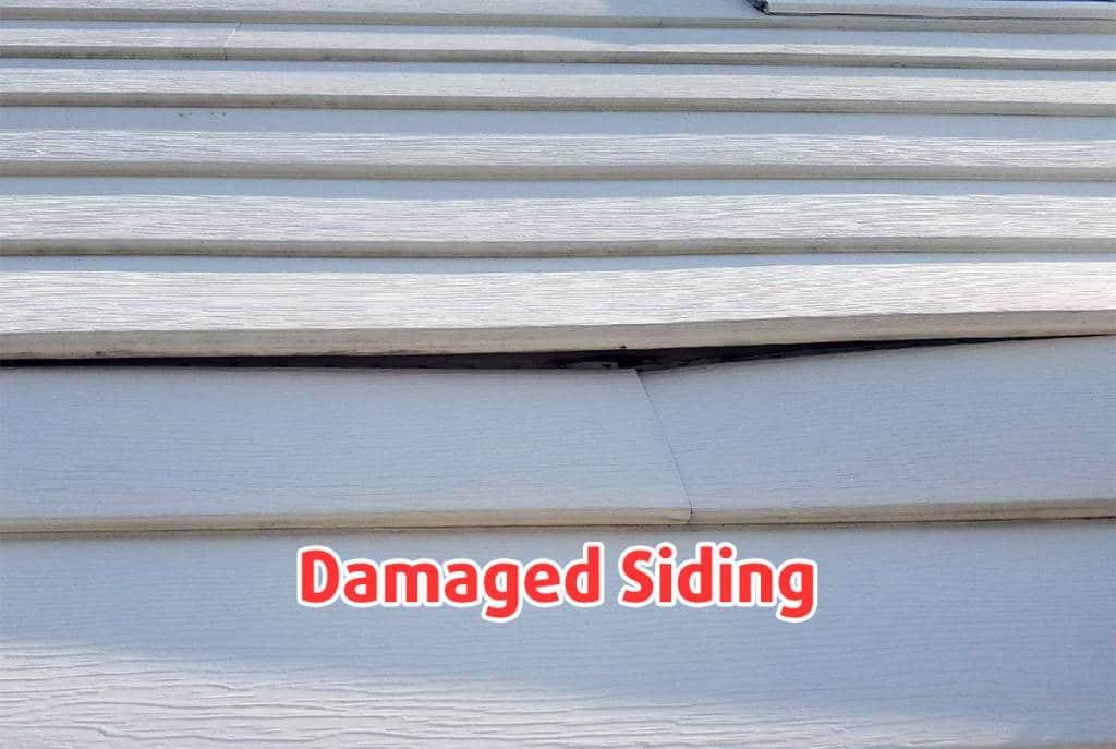 Damaged Siding Repair