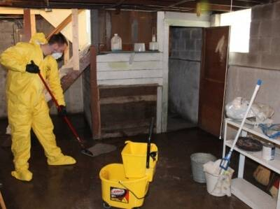 cleaning mold foundation water basement kenosha wisconsin