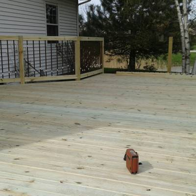 deck, deck builder, general contractor, odd job, porch