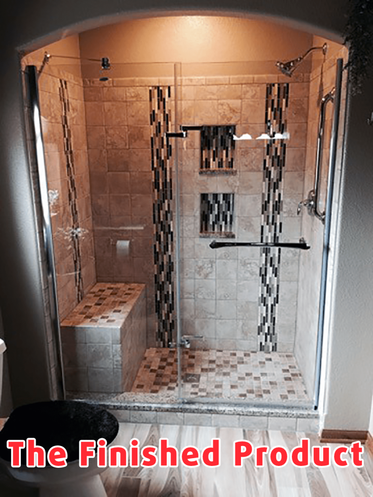 Bathroom Floor And Shower Upgrade Project Of The Day
