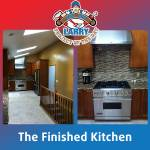 Finished Kitchen Remodel by Odd Job Larry