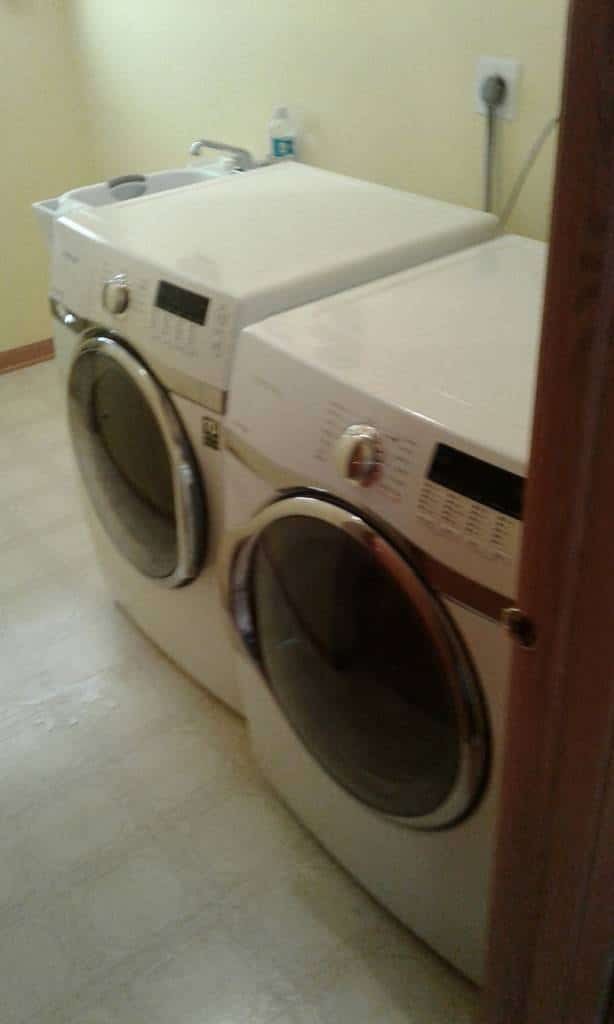 Washer and Dryer Odd Job
