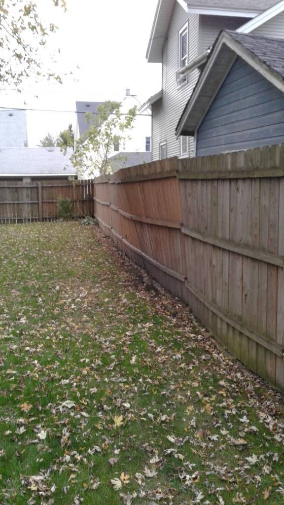 Fence Repair (Before)