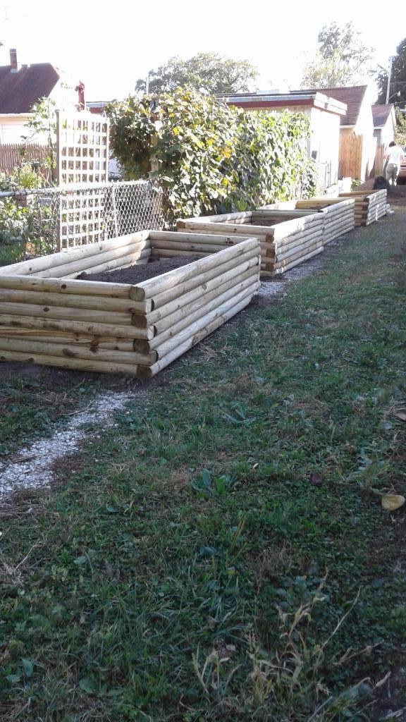 Planter Bed Installation