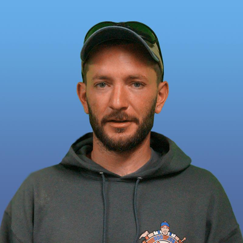 cory ziehr, odd job larry, handyman in kenosha