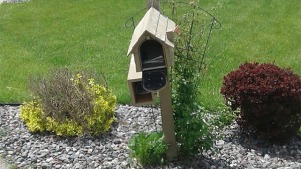 mailbox, leaning, repair, mailbox post, mount mailbox, fix