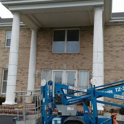 column, column replacement, pillar, pillar replacement, odd job, handyman