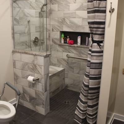 bathroom remodel, bathroom renovation, remodel, renovation, fix, handyman, contractor, tub