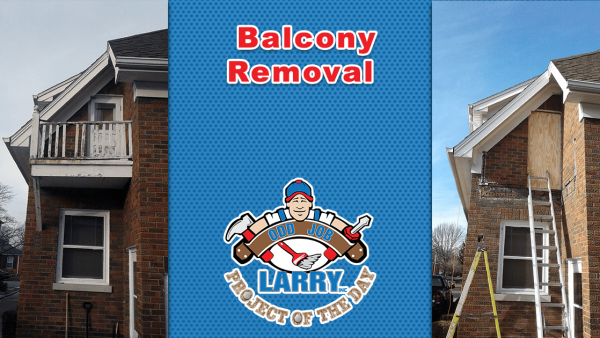 handyman balcony removal in third lake il