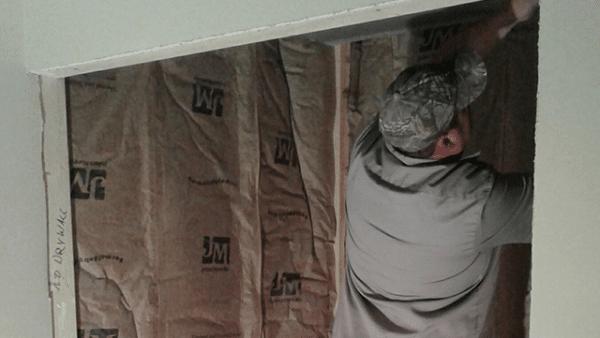 shower, basement, install, installation, renovation