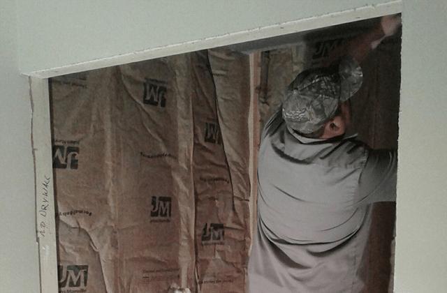 Basement Shower Install