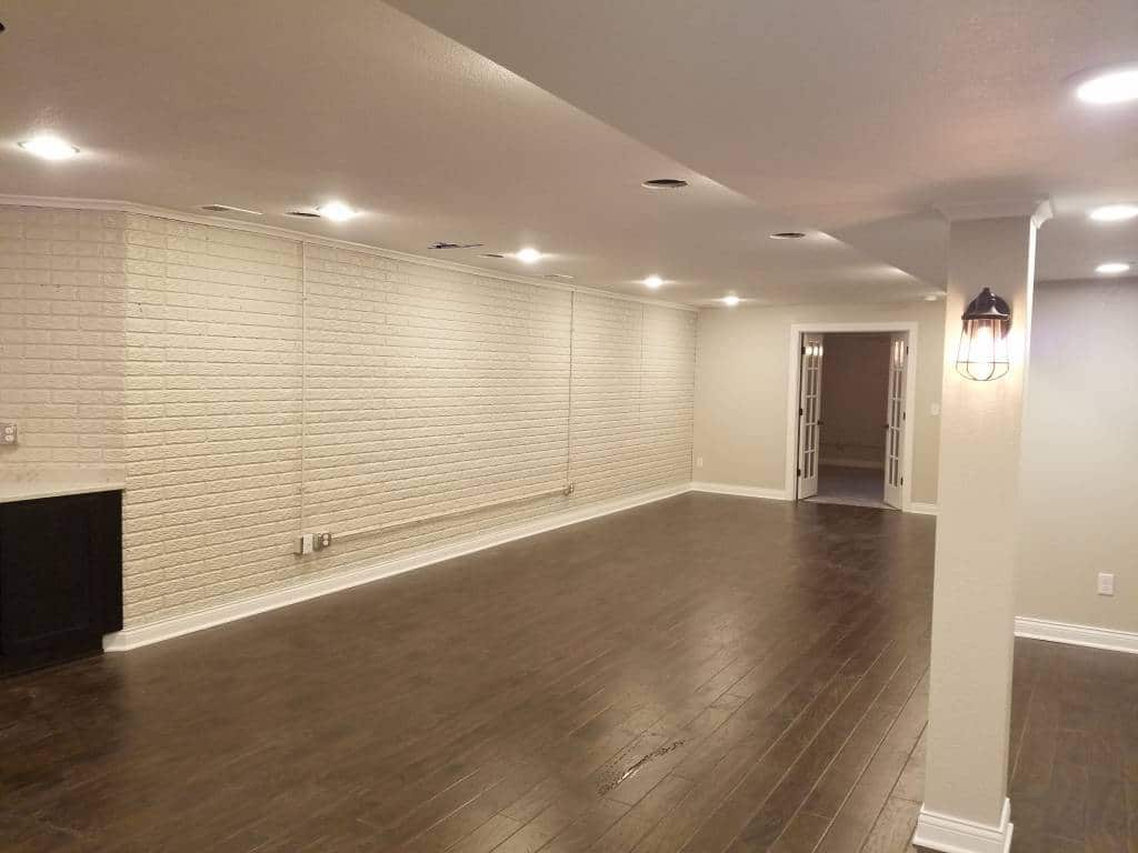 Basement Entertainment Space