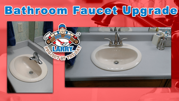 handyman bathroom faucet upgrade in north chicago