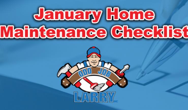 January Home Maintenance Checklist
