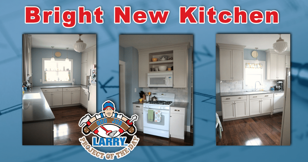 A Bright New Kitchen