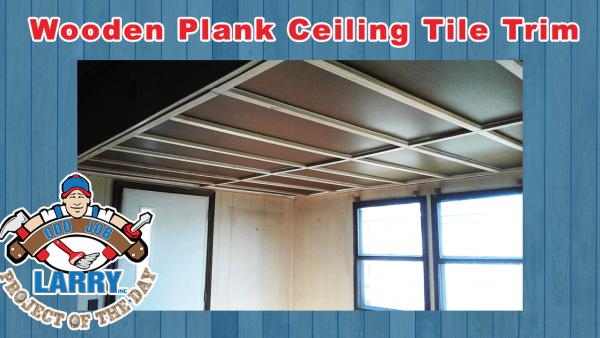 handyman ceiling tile trim installation kenosha