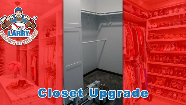 handyman closet upgrade beach park