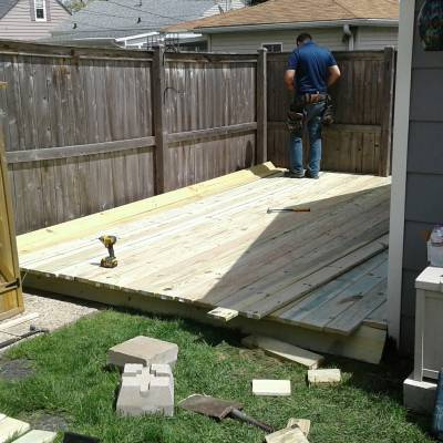 deck, deck builder, patio, wooden, framing, summer, handyman