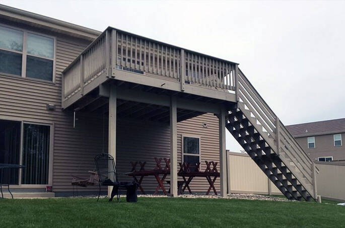 deck kenosha, patio kenosha, build deck kenosha, new patio kenosha