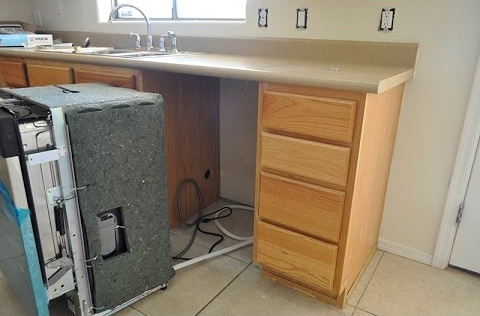 dishwasher installation kenosha