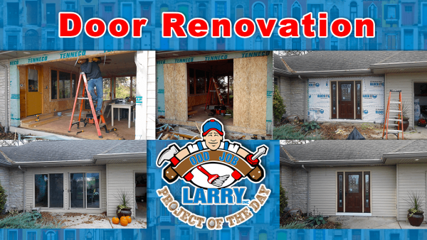 handyman door renovation move front door kenosha