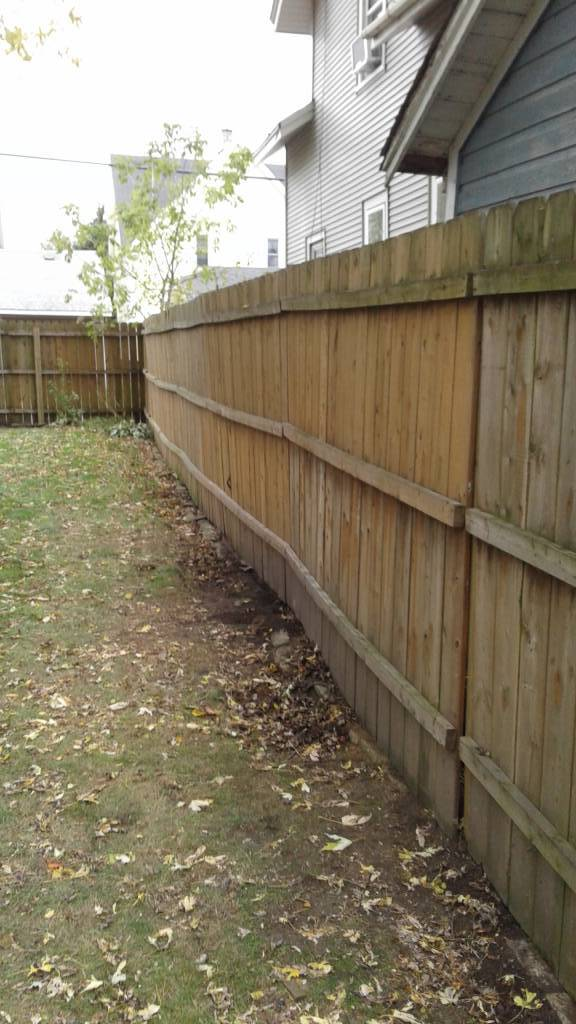 Fence Repair (After)