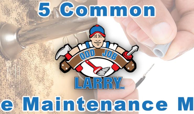 Five Common Home Maintenance Myths