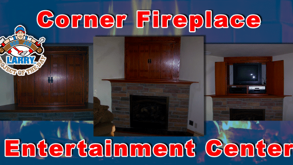 handyman fireplace entertainment center installation
