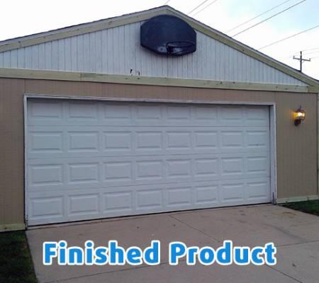 garage siding installation, garage painting