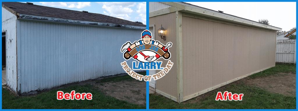 Revitalizing Garage Siding Installation