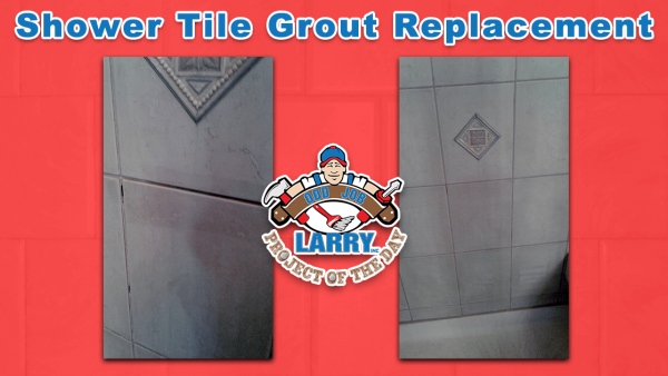 handyman shower tile grout replacement in libertyville